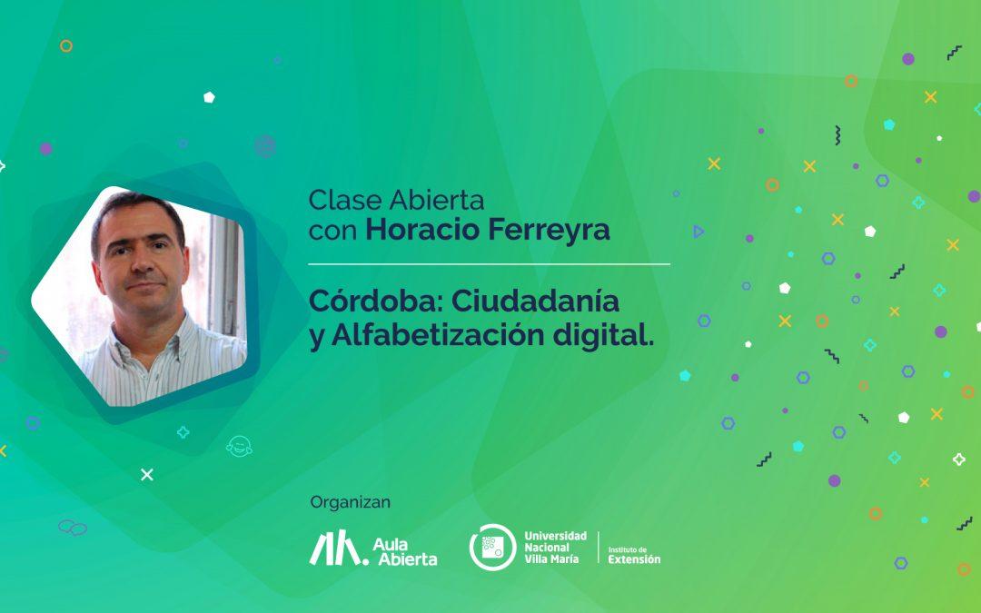 Seminario web gratuito con Horacio Ferreyra