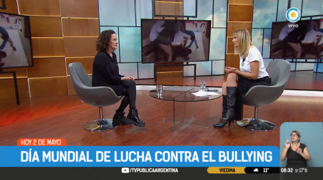 """María Zysman: """"Hay chicos que sufren mucho y eso se puede evitar"""""""